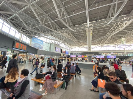 Busan Train Station concourse