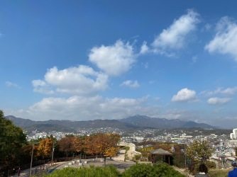 View from Naksan Park Seoul City Wall