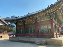 This is where the Korean King receives foreign envoys