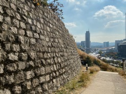 Seoul City Wall near to Dongdaemun